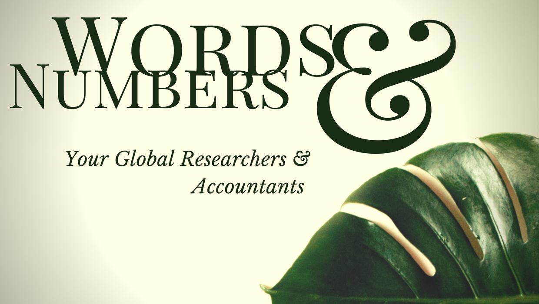 Words & Numbers Ltd.